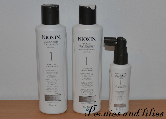 Nioxin hair system kit, Nioxin hair system kit review, Nioxin cleanser, Nioxin scalp revitaliser, Nioxin spray on scalp treatment