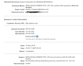 adnow payment proof