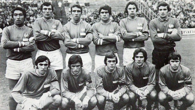 Belgique-FRANCE 1970.