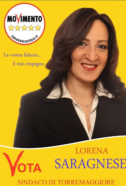 """Torremaggiore, Lorena Saragnese M5S """"il nostro obiettivo è quello di trasformare questo comune"""""""