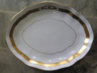 ヘレンド 葉形 金彩 皿