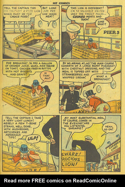 Read online Hit Comics comic -  Issue #56 - 39