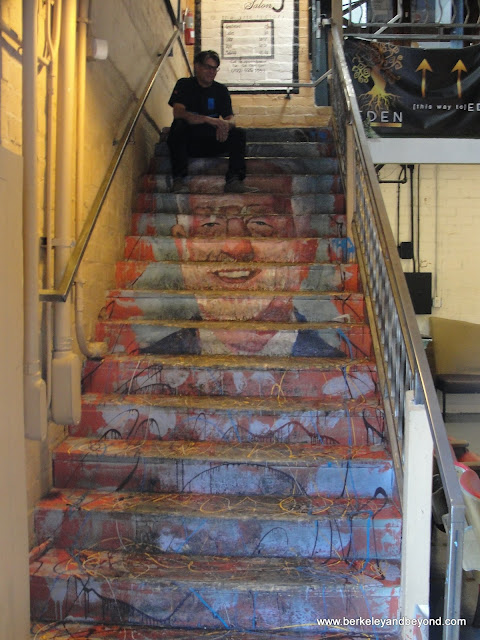 interior steps of The Arts Factory in 18b, The Las Vegas Arts District