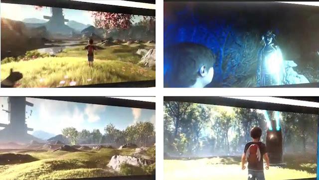 A jornalista Laura Kate Dale mostra quatro supostas imagens do jogo.