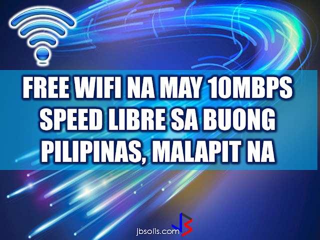 "A House panel  approved a bill aiming to provide free Wi-Fi in public areas throughout the country on first reading . The House Committee on Information and Communications Technology (ICT) approved House Bill (HB) 5225, the ""Free Public Wi-Fi Act,"" in substitution of House Bills 515, 616, 1954, 1957, 2846, 3055, and 3250.  ""We hope to get approval [for HB 5225] ng 2nd reading next week…it is a priority bill. The president and the DICT (Department of Information and Communications Technology) have agreed to put up a backbone for this,"" said Tarlac 2nd District Rep. Victor Yap, chairman of the ICT committee, in an interview with ABS-CBN News. The bill aims to provide free wireless Internet connection in national government offices, public schools, state universities and colleges, public libraries, parks and plazas, barangay centers, public hospitals and rural health centers, and public transportation terminals. Wireless access points will be installed through partnerships with private Internet service providers or  through the DICT. FASTER INTERNET AND 100,000 WIFI SITES IN THE PHILIPPINES UNDER DUTERTE NET  The government aims to provide an internet service  with speed of 10mbps way faster that the internet service provided by the two existing telcos in the country. It is 2 years after the proposed DICT plan which was approved by President Rodrigo Duterte will finally become a law.  According to Rep. Victor Yap, speed is crucial for the  Internet bandwidth.   Unless the speed will be at least 10 Mbps you cannot put it in good use. He also highlighted the benefits of free public Wi-Fi such as economic development, tourism, and use in information dissemination during disaster relief operations.  DUTERTE'S NET, THE CREATION OF THE NATIONAL BROADBAND PLAN The DICT also said that the Philippines is open for new telco players in the country. Sec Rodolfo Salalima said that an open competition in local telecommunications industry will help ensure better services and affordable pricing.  The DICT is preparing a Government Portal which allows the public to have easier access to government services. The National Broadband Portal will bring internet services to the ""unserved and underserved"" areas of the country making government transactions fast and easy with the use of modern internet technology. The two telecom giants said that they are up to the challenge of providing faster internet connection to the Filipinos.  Dict is also collaborating with other government agencies such as the DILG in mitigating inefficiencies in the local government level that eventually lead to poor internet services. Salalima also said that the government has  started quasi-judicial proceedings to recover all unused and unpaid frequencies. The Secretary believe that telecommunications service is a basic human right as stated in UN resolution in 2012 and the DICTs mandate is to make sure that telecommunications service is accessible to the public.  The ICT Office asked for a P3.2 billion budget for this year to fund the free Wi-Fi service, more than half of the current of P5 billion total budget allocated for the agency.  In the 2015 General Appropriations Act, the project had a total budget of P1.408 billion. Free Internet access and improved connection speed was one of President Rodrigo Duterte's promises in his inaugural SONA to the Filipino people.       RECOMMENDED  NATIONAL PORTAL AND NATIONAL BROADBAND PLAN TO  SPEED UP INTERNET SERVICES IN THE PHILIPPINES  NATIONWIDE SMOKING BAN SIGNED BY PRESIDENT DUTERTE   EMIRATES ID CAN NOW BE USED AS HEALTH INSURANCE CARD  TODAY'S NEWS THAT WILL REVIVE YOUR TRUST TO THE PHIL GOVERNMENT  BEWARE OF SCAMMERS!  RELOCATING NAIA  THE HORROR AND TERROR OF BEING A HOUSEMAID IN SAUDI ARABIA  DUTERTE WARNING  NEW BAGGAGE RULES FOR DUBAI AIRPORT    HUGE FISH SIGHTINGS"