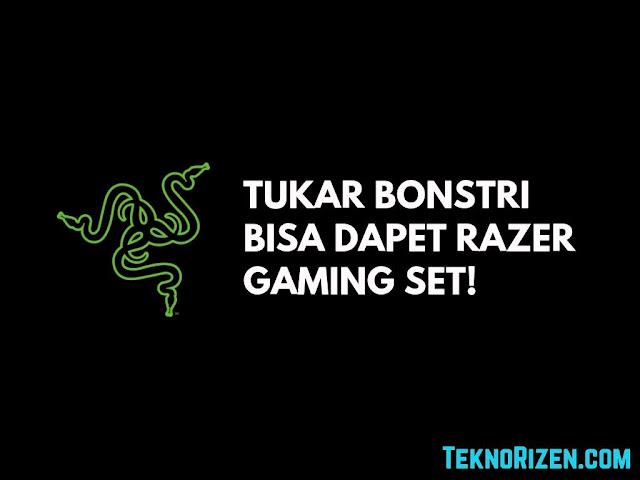 Tukar Poin BonsTri Bisa Dapet Razer Gaming Set!