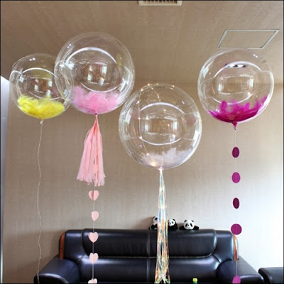 Balon PVC Transparan