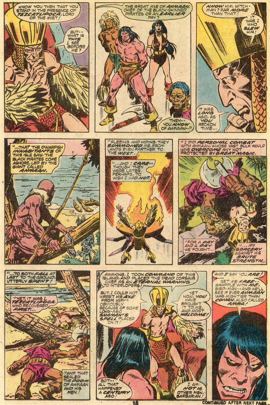 Conan the Barbarian (1970) Issue #65 #77 - English 12