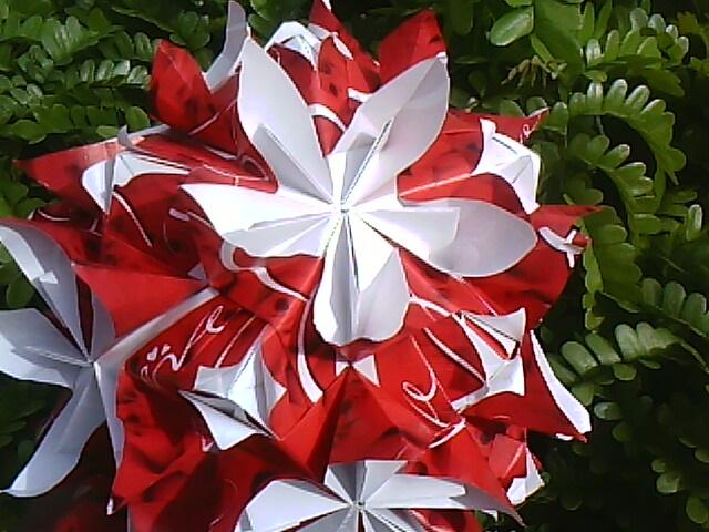 Kusudamaaddicts Double Flower Kusudama Maria Sinayskaya