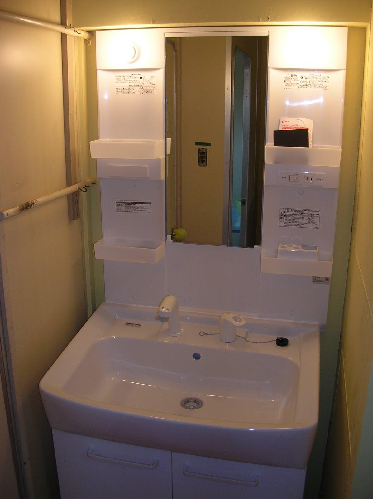sophia's blog : 【diy】洗面台+化粧台を交換しました-bathroom vanity