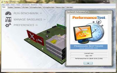 PassMark PerformanceTest 9.0 Build 1027 F.U.L.L