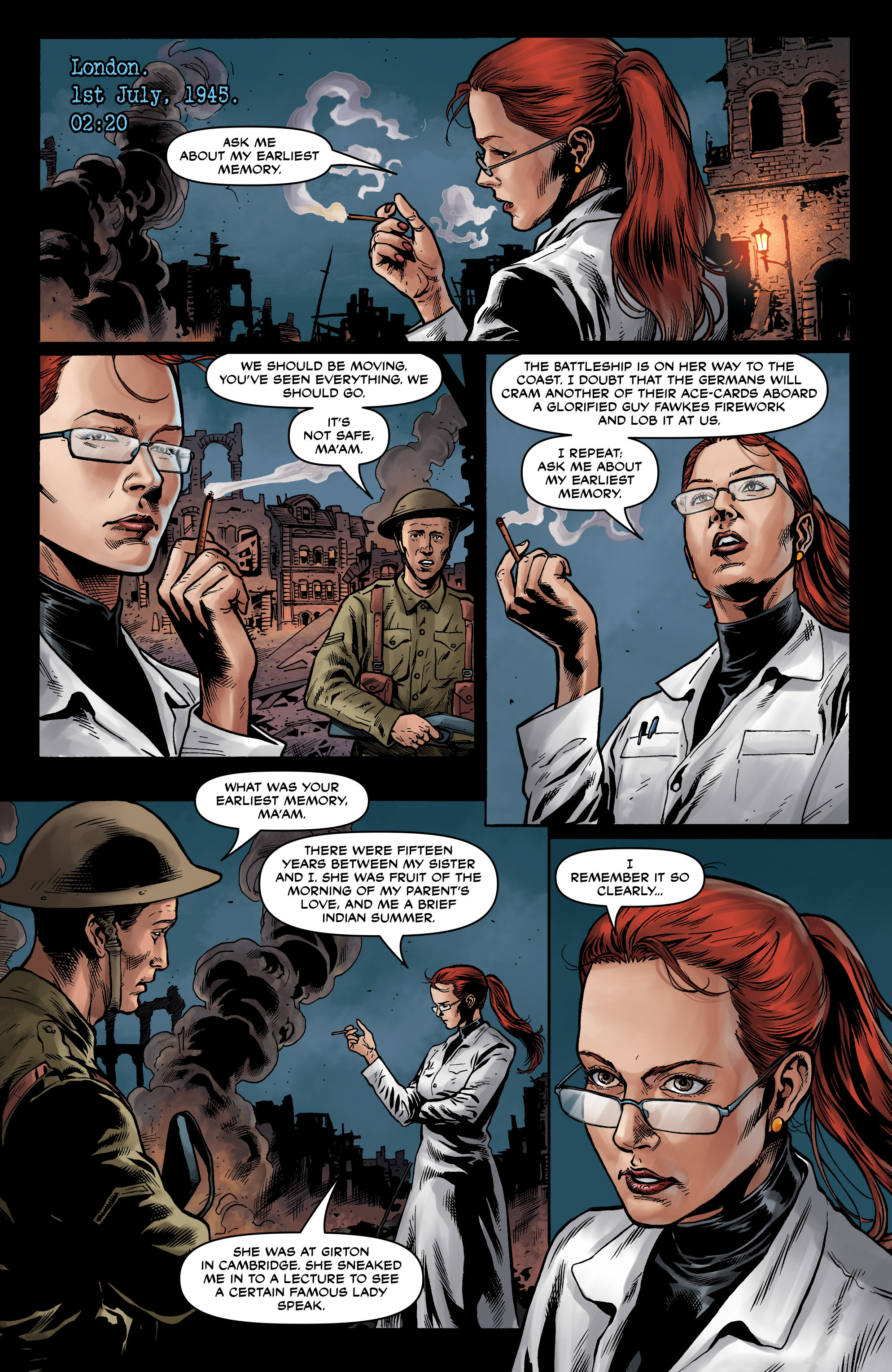 Read online Uber comic -  Issue #12 - 6