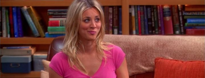 Kaley Cuoco habla del encuentro entre el elenco de The Big Bang Theory y Friends