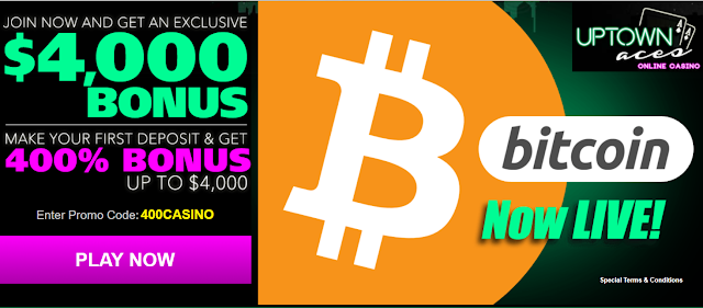 Bitcoin is now accepted at Uptown Aces Casino