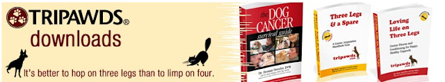 Tripawds® downloadble books