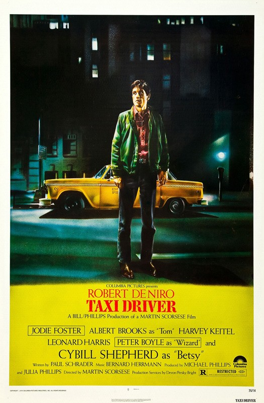 1150792bc3 Jodie Foster and Harvey Keitel in the Movie: Taxi Driver, 1976 ...