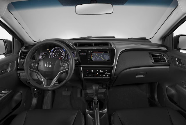 Honda City EXL 2018 - interior