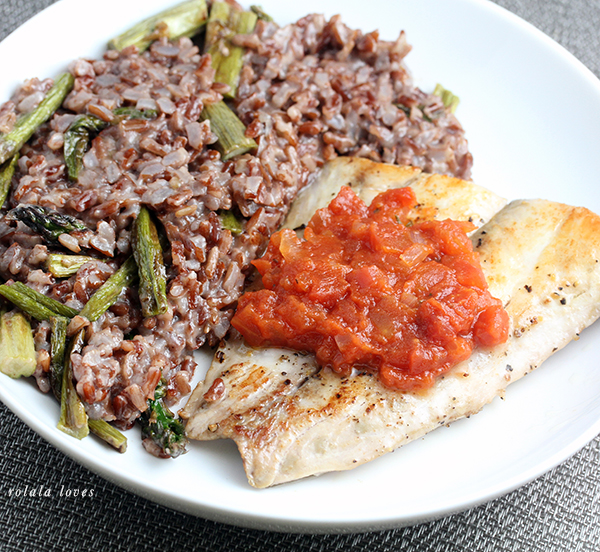 Blue Apron Recipe, Blue Apron Review, Fish Recipe, Drum Fish Recipe