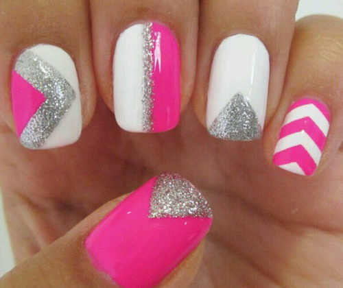 Mind Blowing Nail Art Designs With Hot Pink