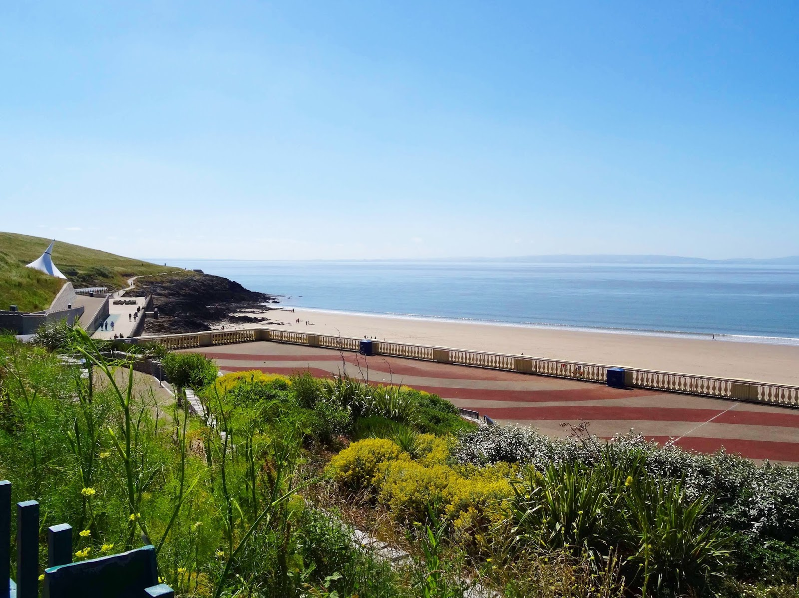Barry Island Beach View