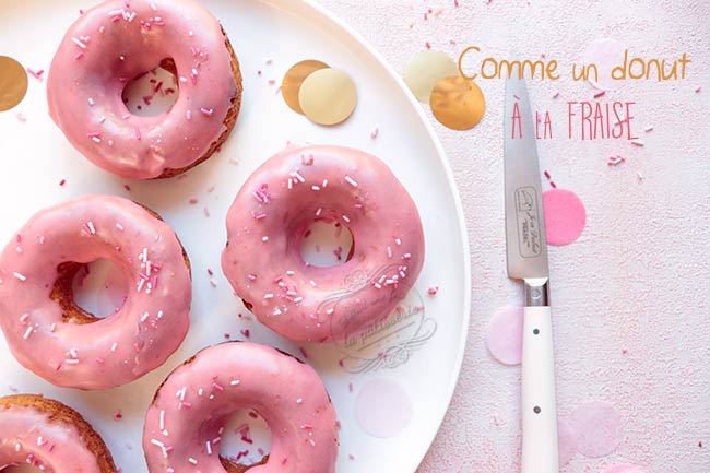 donuts four fraise