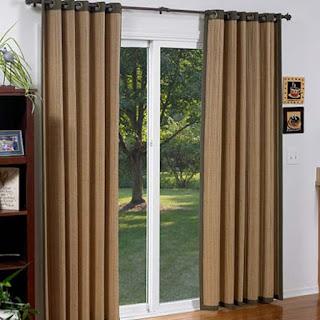 nteresting Curtains for Sliding Doors Ideas