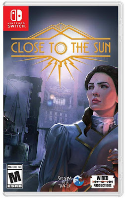 Close To The Sun Game Cover Nintendo Switch