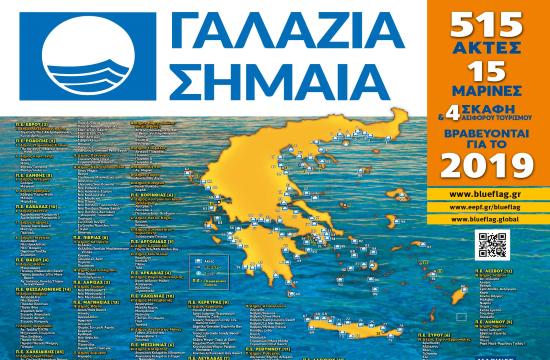 Τεράστια επιτυχία μας με τη βράβευση έξι ακτών του Δήμου Θερμαϊκού με «Γαλάζια Σημαία»
