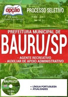 Apostila Prefeitura de Bauru 2017
