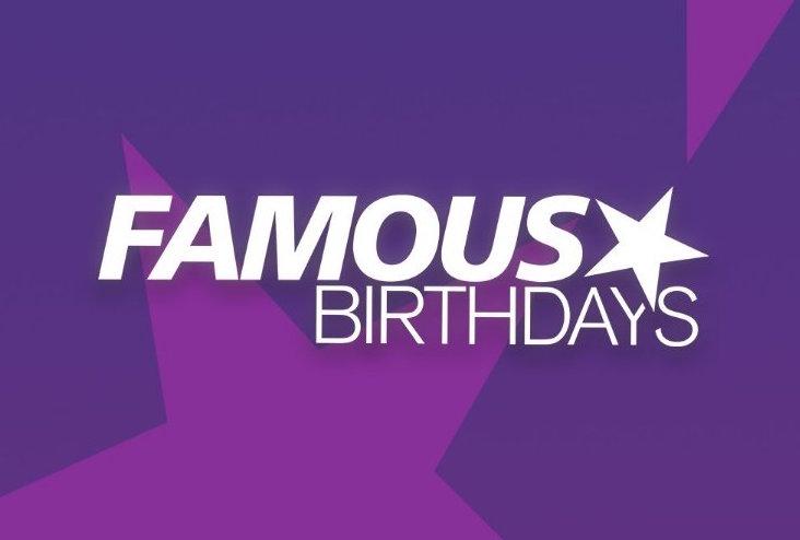 famous birthdays logo