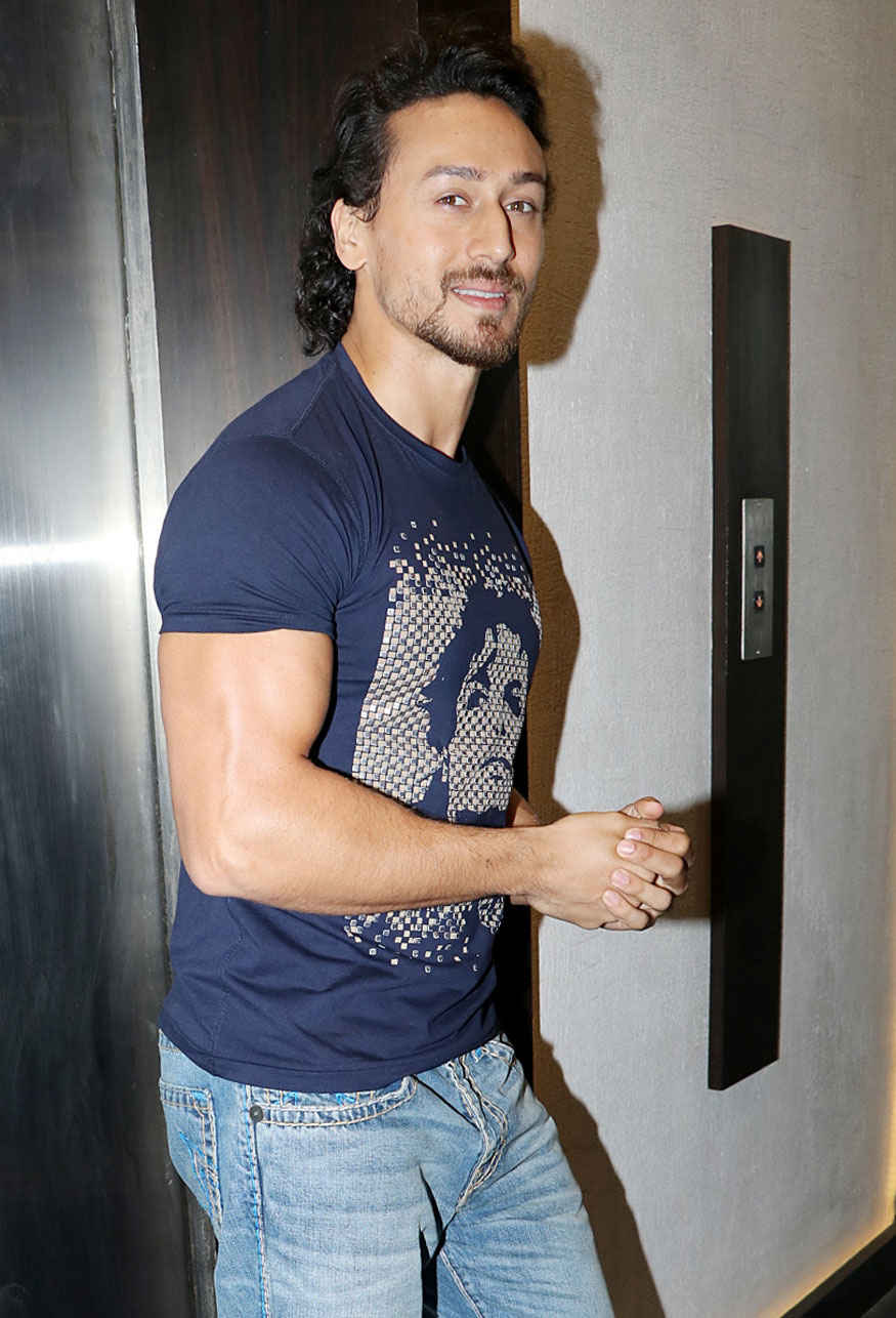 Tiger Shroff at First Look Launch of Movie 'Munna Michael' In Mumbai