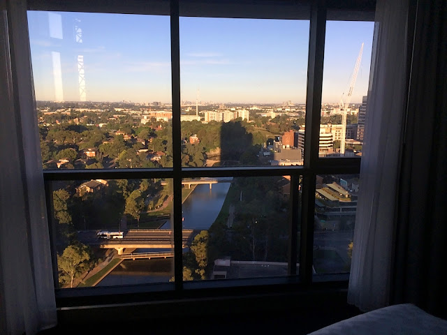 Meriton Church Street Parramatta Views from bedroom