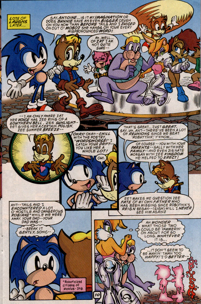 Read online Sonic The Hedgehog comic -  Issue #69 - 10
