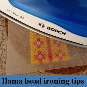 Tips for ironing Hama beads