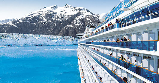 Cruising Alaska's Inside Passage, shore excursions at sea and on a land tour feature possible encounters with whales, dolphins, bears, glacier-carved fjords, icebergs, moose, bald eagles and tufted puffins.