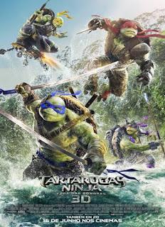 As Tartarugas Ninja – Fora das Sombras