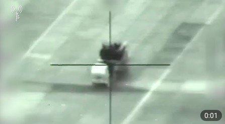 Появились кадры уничтожения российского «Панциря» в Сирии