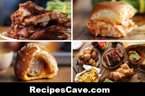 BBQ Ribs Slide Bread Recipe