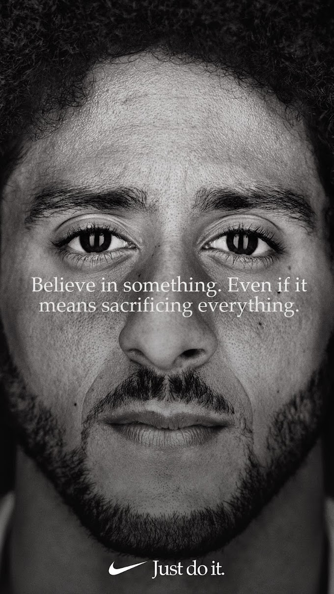 Colin Kaepernick becomes Face of Nike's 30th Anniversary for 'Just Do It' Campaign