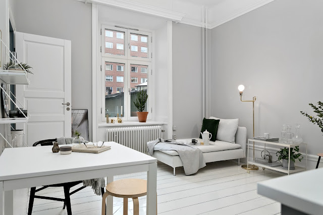 MINIMALIST INTERIOR DESIGN LIVING ROOM | SCANDINAVIAN DESIGN
