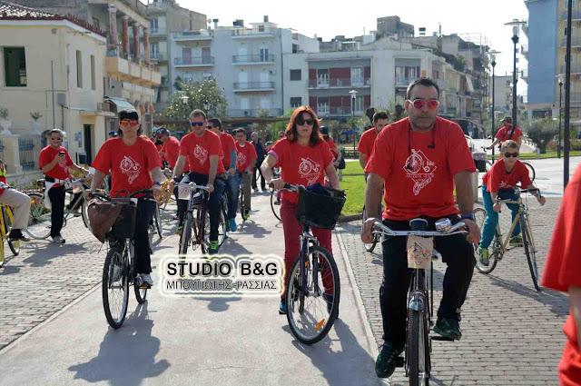 Με επιτυχία ξεκίνησε ο Μαραθώνιος ποδηλάτων εποχής στο Άργος