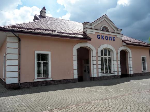 Сколе. Львовская область. Железнодорожный вокзал