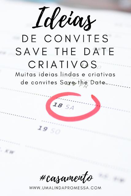 ideias de convites save the date criativos
