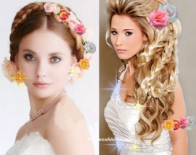 New Bridal Hairstyles for Young Girls 2017