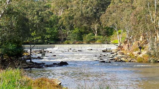 Yarra River Dights Falls