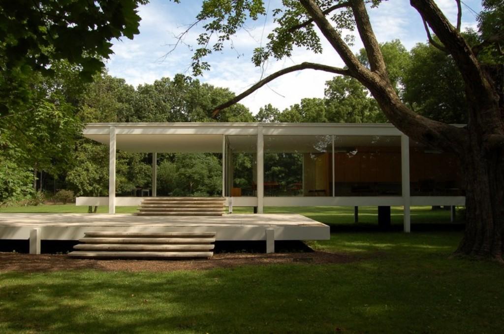 Casa Farnsworth Prospetti