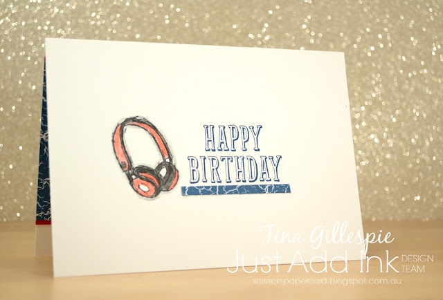 scissorspapercard, Stampin' Up!, Just Add Ink, Epic Celebrations, Birthday Wit, Colour Theory DSP