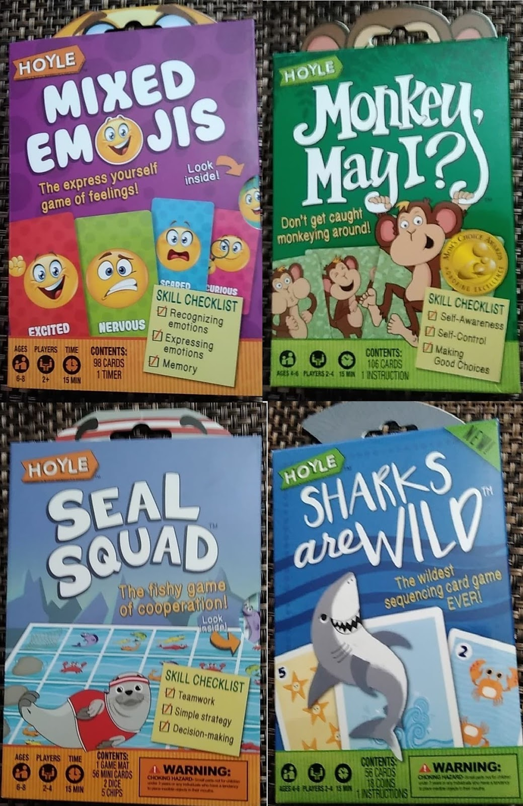 Enter this Giveaway for a chance to win 4 Card Games for Kids from