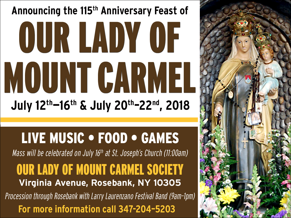 Il Regno: Announcing the 115th Anniversary Feast of Our Lady of