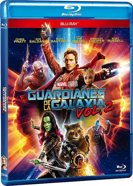 Guardians of The Galaxy Vol. 2 IMAX (Guardianes de la Galaxia Vol. 2 IMAX) (2017) 720p y 1080p BDRip mkv Dual Audio AC3 5.1 ch